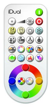 Telecommande Plate Idual Ctt & Colors